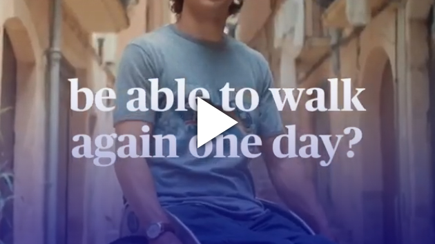 Will paralysed people be able to walk again one day?